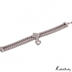 Kutchinsky White Gold Diamond Bracelet